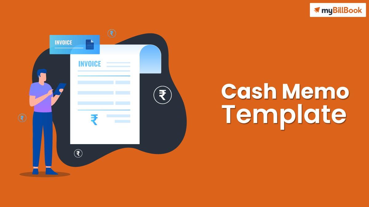 cash memo template