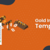 gold invoice template