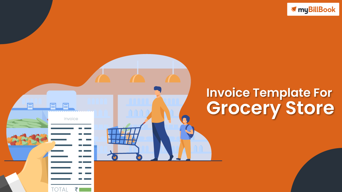invoice template for grocery store