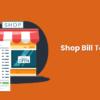 shop bill template