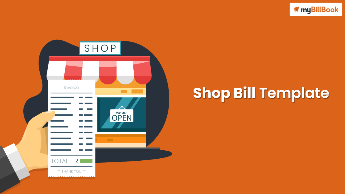 shop bill template