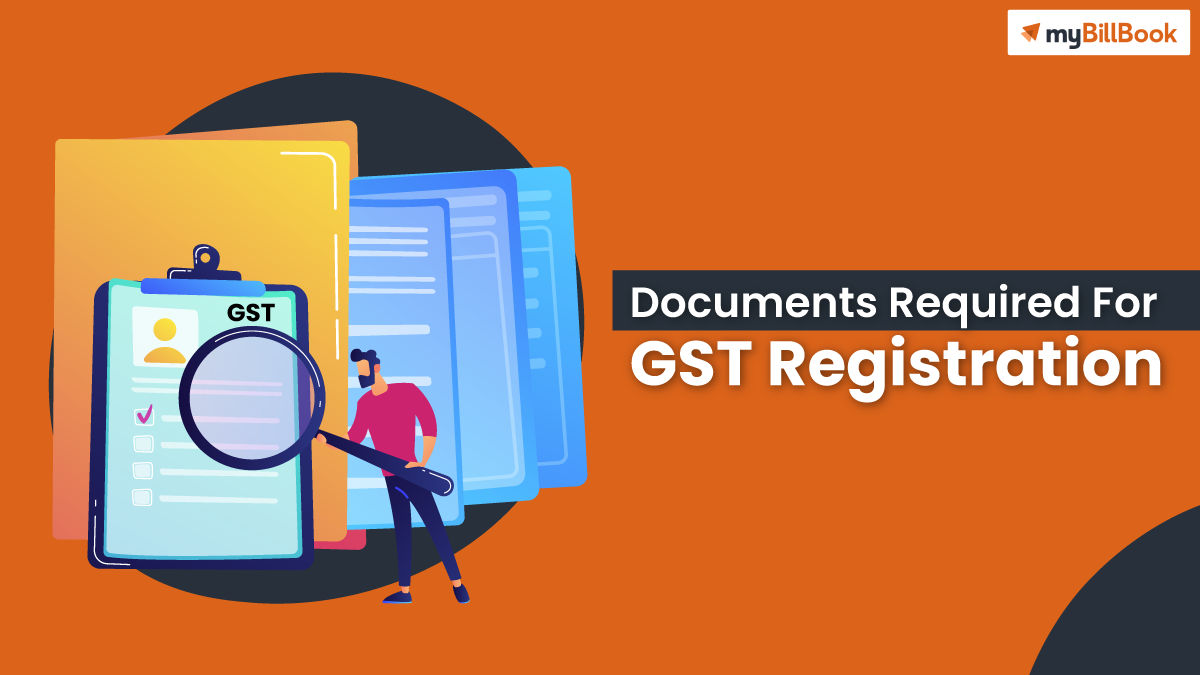 documents required for gst registration