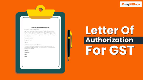 letter of authorization for gst