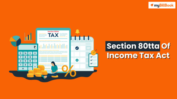 section 80tta of income tax act
